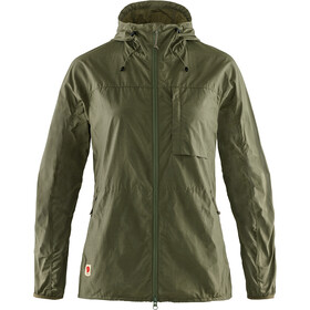 Fjällräven High Coast Wind Jacket Women green